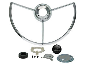 New 1960 63 Falcon Horn Ring Assembly Contact Emblem Futura Sprint Ford