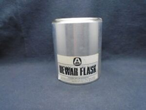 Aldrich 350ml 76mm Id 95mm Depth Cylindrical Glass Aluminum Dewar Flask Z202649
