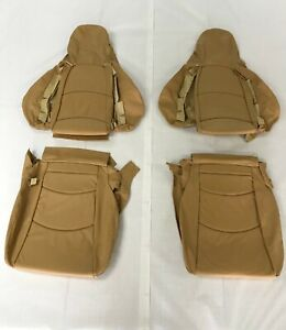Porsche 911 1995 1998 Front Seat Covers standard Seats Cashmere Leather