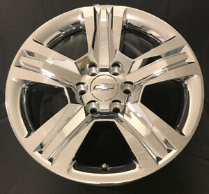 20 Chevy Tahoe Ltz Silverado 1500 Chrome Factory Wheel Oem Rim 2016 2020 5755