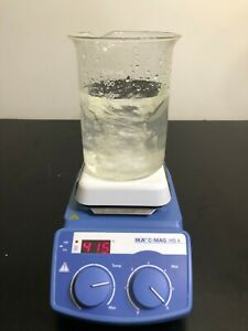 Ika C mag Hs 4 Hot Plate Magnetic Stirrer Stirring Digital 120v Mix Warranty