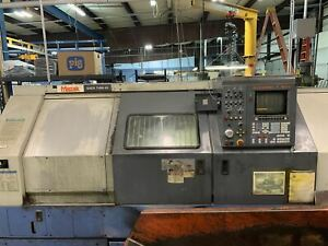 Mazak Qtn 40 Cnc Lathe 1998 Tailstock Tooling Included