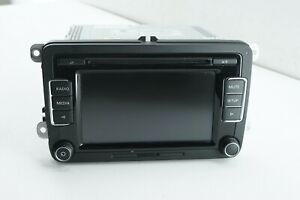 Volkswagen Golf Tiguan Radio Cd Info Display Touchscreen Rcd510 Oem 2012 2015