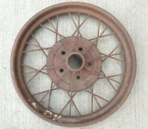 1928 1929 Model A Ford 21 Inch Wire Spoke Wheel Original 5 Lug 2