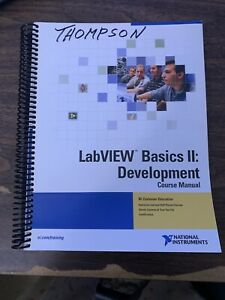 National Instruments 320629m 01 Labview Basic Ii Development Course Manual