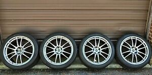 Enkei Racing Gtc01 Nissan Gtr 20 Wheels Pirelli Winter Snow Tires