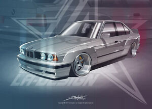 Full Widebody Kit For Bmw E34 By La Design