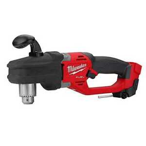 Milwaukee 2807 20 M18 Fuel Hole Hawg Cordless Right Angle Drill tool Only New