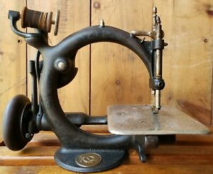Rare C1871 Wilcox Gibbs Sewing Machine Treadle Head