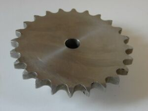Unkeyed Bore Stainless Steel S s Sprocket 60 24 24 Teeth 3 4 Bore Stainless St