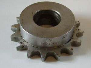 Unkeyed Bore Stainless Steel S s Sprocket 60 16 16 Teeth 1 1 2 Bore Stainless