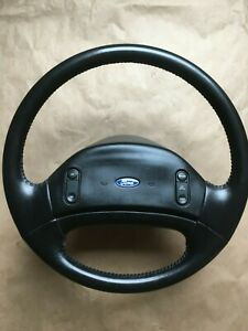 1994 Ford Truck Factory Leather Steering Wheel Xlt 92 93 F150 92 97 F250 f350