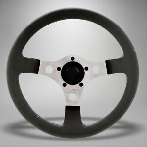 1950 1979 Vw Beetle Super Formula Gt Silver 3 spoke Steering Wheel 319694