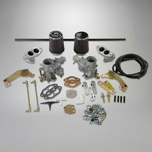1956 1979 Vw Ghia Off Road Beetle Dual 34mm Ict Carb Kit For Dual Port T1 375982