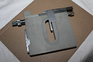 Carl Zeiss Microscope Table Stage Xy Mikroskop
