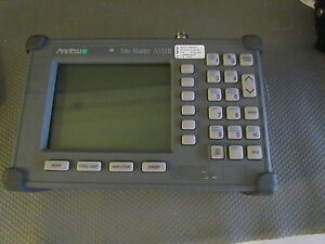 Anritsu S331b Sitemaster Cable Antenna Analyzer