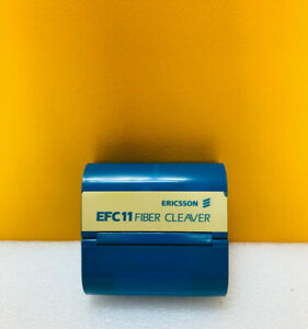 Ericsson Efc11 pm 80 To 200um 9v Battery Powered Electronic Fiber Cleaver Tested