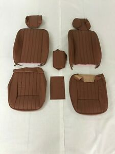 Jaguar Xke 1969 74 Replacement Covers For Front Seat Cinnamon Leather