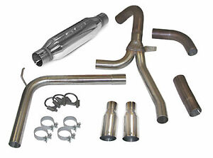 Slp Exhaust System 1998 02 Camaro firebird Loud Mouth Ls1 W 3 5in Slash Tips