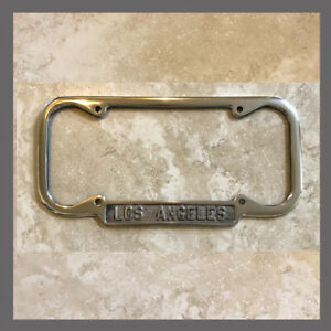 New 1940 1955 Los Angeles La California Down License Plate Frame Ford Chevy
