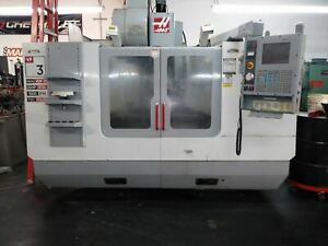 Haas Vf 3d Vmc 2003 Tsc Rt Chip System 4th Axis vop d