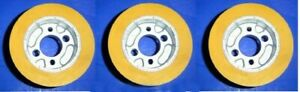 Accura comatic Ro 10 power stock Feeder Roller Wheels 50 X 100mm Set Of 3