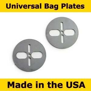 2 Universal Air Bag Plates Upper Lower Dual Or Single Ports 2500 And 2600