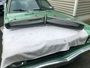 1966 1967 Pontiac Tempest Lemans Gto Pair Of Really Nice Original Oem Gm Grilles