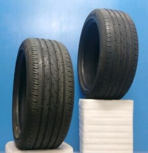 Set Of Two 2 19 Continental Conti Procontact Tires 235 45r19 95h Dot14