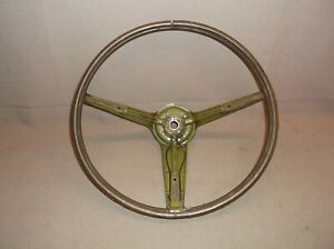 1970 1971 1972 1973 Mercury Cougar Ford Mustang 3 Spoke Rimblow Steering Wheel