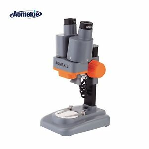Binocular 40x Portable Stereo Microscope Led For Pcb Solder Mobile Repair Tool