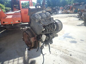 Deutz F3l912 Diesel Engine Runs Exc Video Ditch Witch Vermeer F3l 912 913