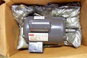New Dayton 1 Hp Electric Motor 143t Frame 1725 Rpm 115 230 Vac Single 6k825l