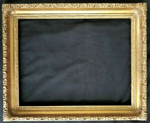 14 X 11 Picture Frame Painting Frame Ornate Gold Finish Wood