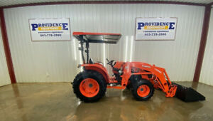 2018 Kubota Orop Mx4800 Hst 4wd Tractor With La1065 Loader