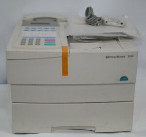 New Pitney Bowes 2030 Plain Paper Laser Fax Machine Copier Never Used