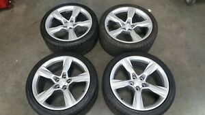 20 Chevy Camaro Ss Oem Staggered Wheels Rims Tires 2010 2015 2016 2017 2018