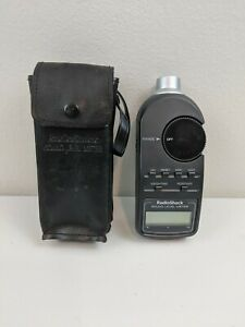 Radio Shack Sound Level Meter 33 2055 Digital Display With Leather Case