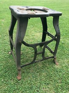 Antique Industrial Table Base Stand