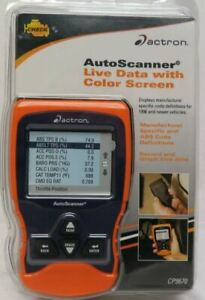 Actron Cp9670 Auto Scanner Trilingual Obd2 Abs With Live Data Scan Tool
