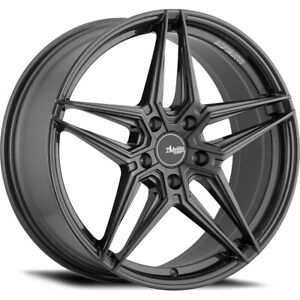 18x8 5 Advanti Racing 107a Decado Wheels Rims 43 5x108 Qty 2