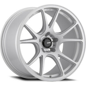19x9 5 Konig 100s Freeform Silver Wheels Rims 40 5x112 Qty 2