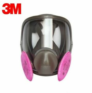 3m 6900 Full Facepiece Reusable Respirator W 1 Pair Of 2091 P1oo Filters Large