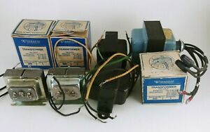 Lot Of 8 Electrical Transformers Edwards Jefferson Electric And More