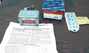 Honeywell Micro Switch Exa ar Explosionproof Roller Cw Actuation Switch N o s