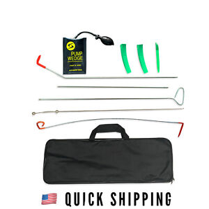 Full Professional Car Lockout Kit Easy Entry Long Reach Grabber 10 Pc Set
