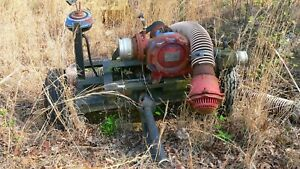 Pto Irrigation Pump Gorman Rupp Model Mb 6 Inch Inlet And Hose 4 Inch Outlet