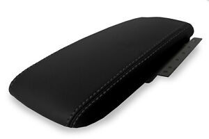 Fits 2003 2011 Ford Crown Victoria Mercury Pvc Console Lid Armrest Cover Black