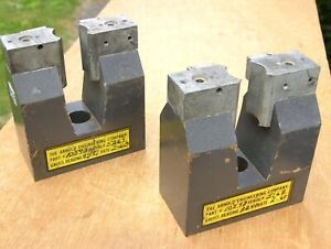 Pair Of Super Strong Alnico 5 Industrial Horseshoe Magnets 5 Lb 11 Oz Each
