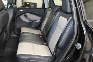 2019 Ford Escape Back Leather Bench Black Gray Second Row 2nd Rear Seat Oem